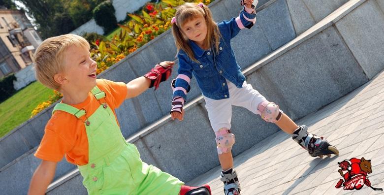 Škola rolanja za djecu od 4 do 10 godina