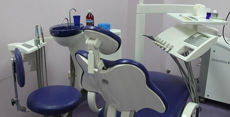 Popravak zuba laserom i troplošni kompozitni ispun - slika 2
