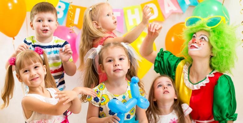 [DJEČJI ROĐENDAN] Najam dekorirane dvorane veličine 100m2 - proslava za 25 djece u trajanju 3 sata za 149 kn!