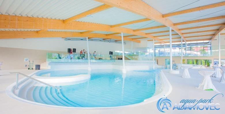 [AQUAPARK ADAMOVEC] Cjelodnevno opuštanje uz bazene i saune - iskoristivo svim danima u tjednu za 100 kn!