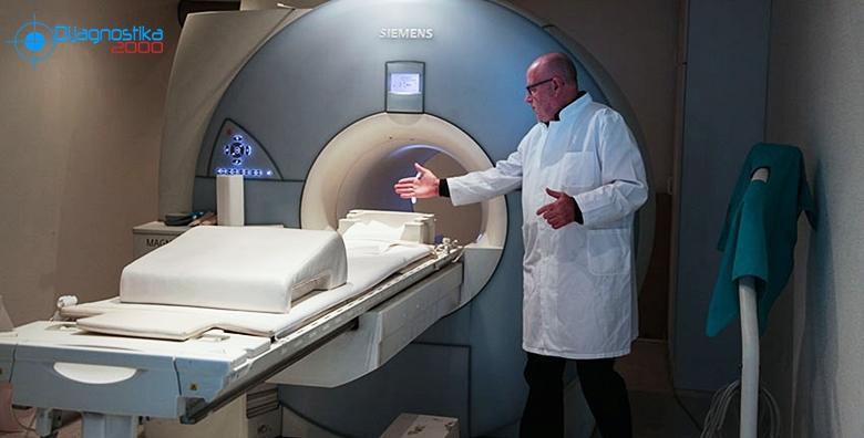 Magnetna rezonanca jednog segmenta kralježnice uz nalaze isti dan za 899 kn!