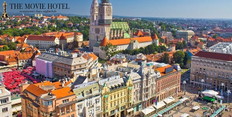 [ZAGREB]  2 dana s doručkom za dvoje u The Movie Hotelu***  - doživite grad u najljepšem proljetnom izdanju za 279 kn!