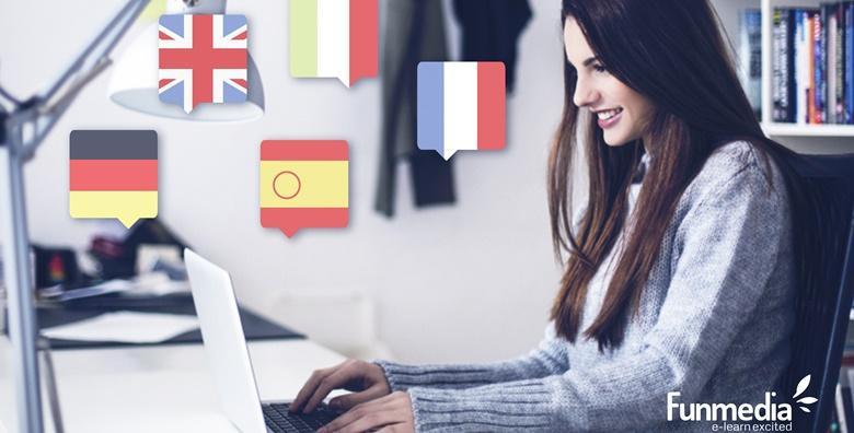 Poslovni engleski, španjolski, talijanski, francuski ili njemački -  online tečaj u trajanju 15 mjeseci s mogućnošću stjecanja certifikata za 189 kn!