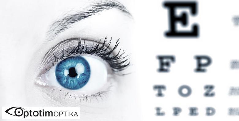Kompletni oftalmološki pregled u Poliklinici Optotim - pridružite se tisućama zadovoljnih korisnika ponude za 99 kn!