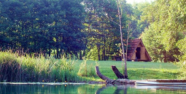 [ROBINZONSKI KAMP] 2 ili 3 dana avanture u drvenoj kolibi kraj rijeke Mrežnice uz korištenje kanua i čamca već od 25 kn!