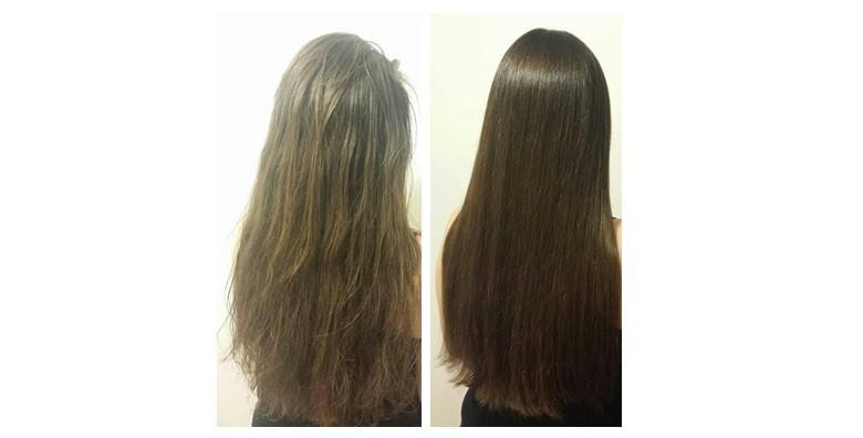 Brazilsko ravnanje kose - keratinski tretman - slika 8