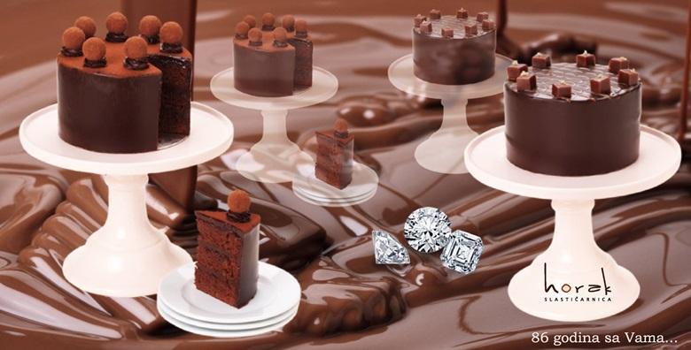 Čokoladna torta - obiteljska slastica u novom ruhu po omiljenoj recepturi Slastičarnice Horak za samo 49 kn!