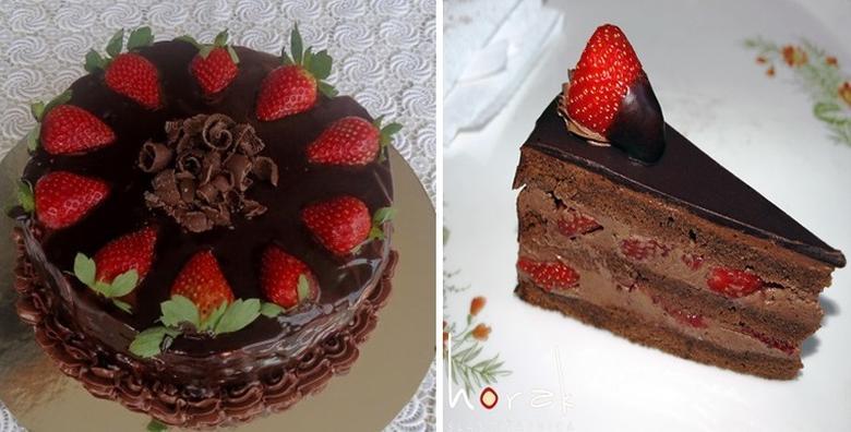 Sezona jagoda je počela! Čokoladna torta s jagodama iz Slastičarnice Horak bez aditiva i konzervansa za 60 kn!
