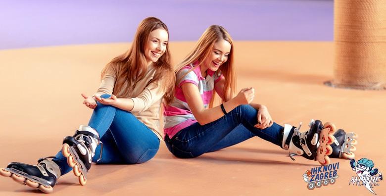 Škola rolanja za djecu do 15 godina na Velesajmu - 8 treninga za 125 kn!