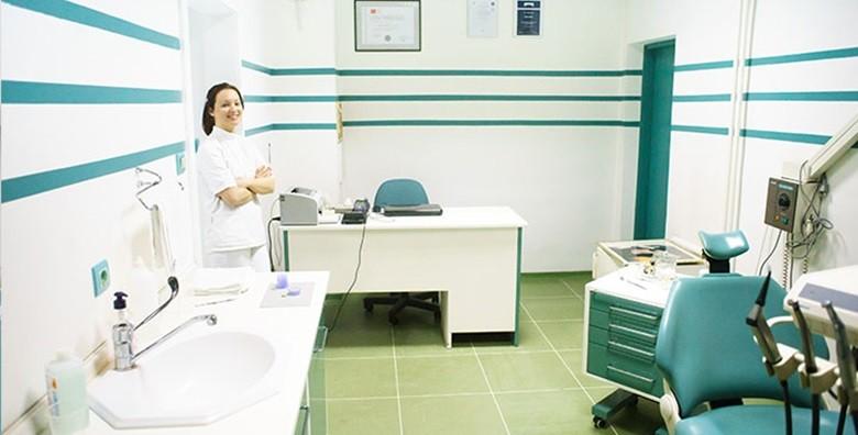 Plomba, čišćenje kamenca i poliranje zubi uz pregled - slika 3