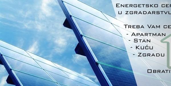 Energetski certifikat - izrada za stan ili kuću - slika 3