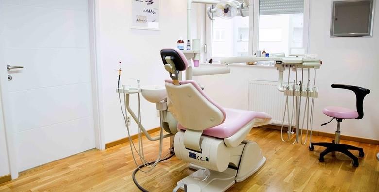 Plomba s anestezijom, čišćenje zubnog kamenca, poliranje - slika 2