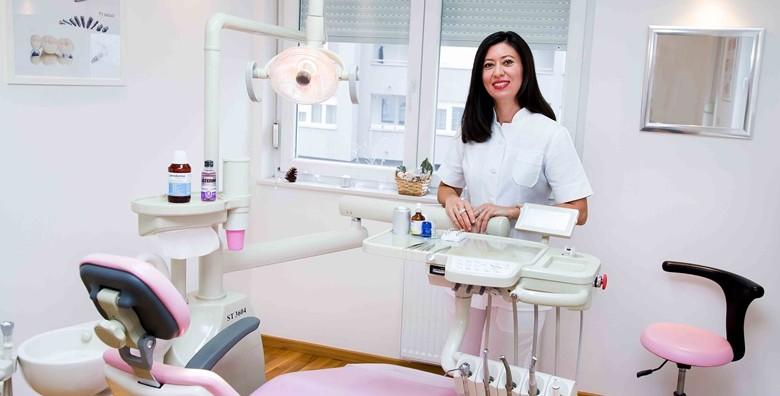 Plomba s anestezijom, čišćenje zubnog kamenca, poliranje - slika 4