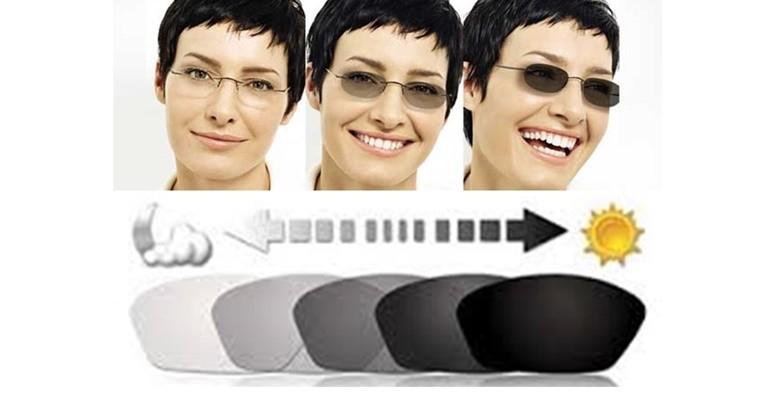 Fotoosjetljive naočalne leće s antirefleksnim slojem - slika 4