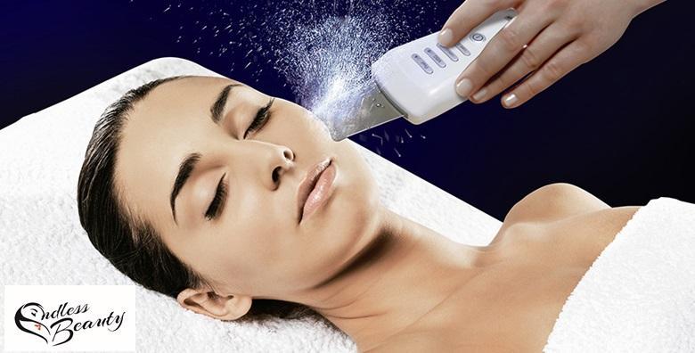 Čišćenje lica ultrazvučnom špatulom i oblikovanje obrva za samo 79 kn!