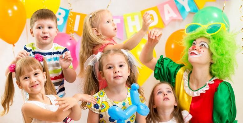[PROSLAVA ROĐENDANA] 2 sata zabave za 20 djece uz animatora, facepainting, neobične frizure, šećernu vatu i voćne koktele za 599 kn!