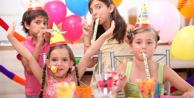 [PROSLAVA ROĐENDANA] 2 sata zabave za slavljenika i 20 djece  uz 2 animatora, uključene slatke i slane grickalice i sokove od 549 kn!