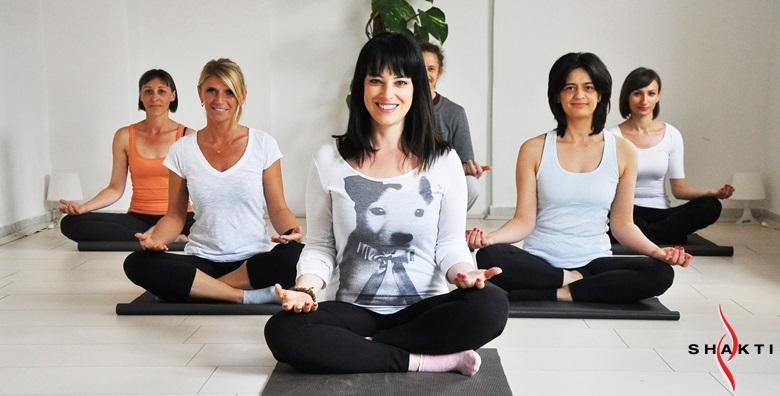 Shakti yoga - mjesec dana vježbanja 2 puta tjedno ili neograničeno za početnike ili napredne od 99 kn!