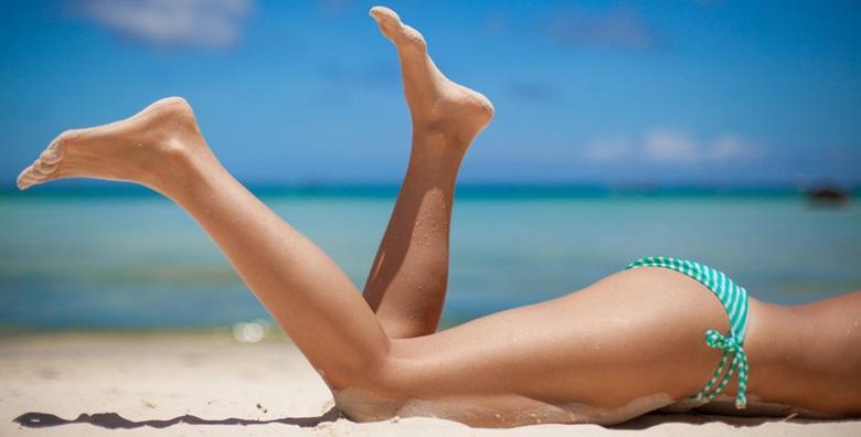 Depilacija cijelih nogu voskom i bikini zone šećernom pastom za 80 kn!