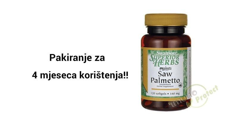 Problemi s prostatom - probajte Saw Palmetto kapsule