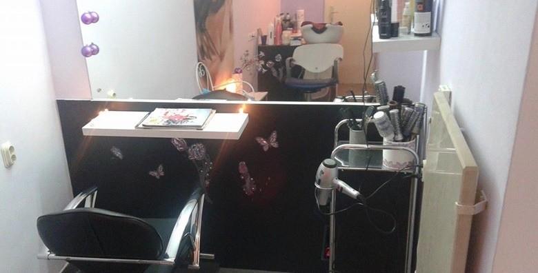 Pramenovi, preljev, šišanje,frizura, maska i masaža vlasišta - slika 3