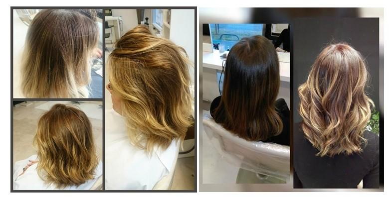 Bojanje ili pramenovi, šišanje, fen frizura i maska za kosu - slika 2