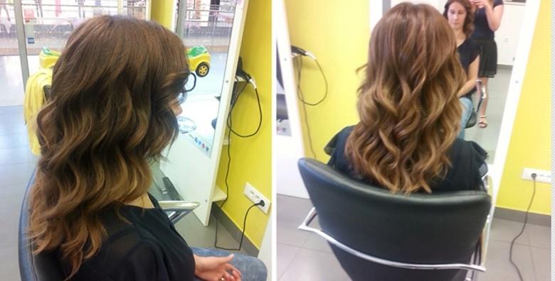 Pramenovi ili bojanje, masaža vlasišta, frizura i njega kose - slika 2
