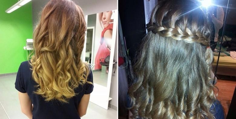 Pramenovi ili bojanje, masaža vlasišta, frizura i njega kose - slika 3