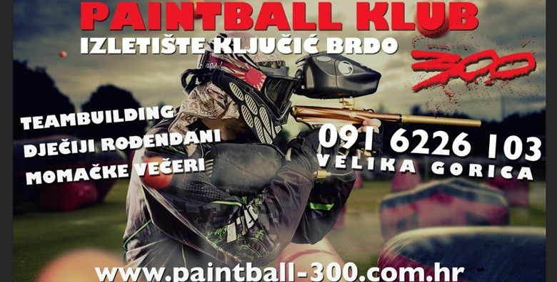 Paintball - 100 kuglica i sva potrebna oprema - slika 2