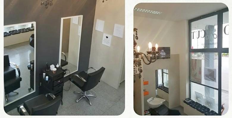 Bojanje, šišanje i fen frizura uz masažu vlasišta i pakung - slika 2