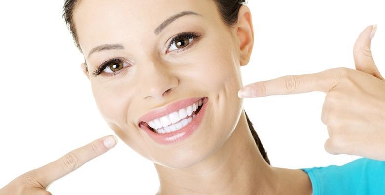 Čišćenje kamenca, pjeskarenje, poliranje, pregled i upute o oralnoj higijeni uz fluouridaciju gratis za 149 kn!