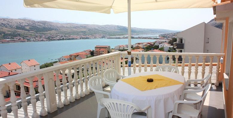 [PAG] 3 ili 8 dana za dvoje u Apartmanima Anastazija*** s pogledom na more i u neposrednoj blizini plaže od 499 kn!