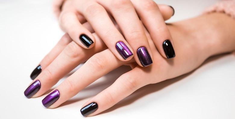 Ugradnja noktiju tipsama s geliranim frenchom ili bojom uz nail art za 99 kn!
