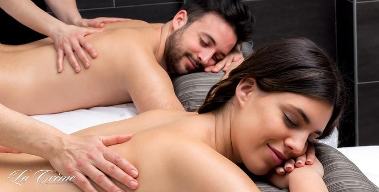 Wellness paket za parove - havajska masaža cijelog tijela ili de-stress masaža leđa, vrata i glave uz Thalgo njegu lica od 299 kn!