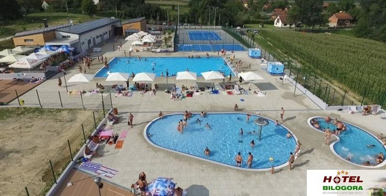 Hotel Bilogora*** - 3 dana s polupansionom za dvoje i 4 cjelodnevne ulaznice za novootvorene bazene za 499 kn!