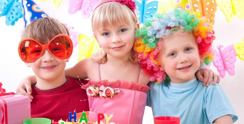 Tematska proslava rođendana za do 15 djece - 1,5 ili 2 sata zabave uz čokoladnu fontanu, sokove, grickalice, pozivnice i poklon slavljeniku od 450 kn!