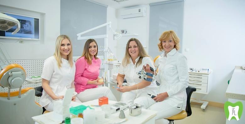 Čišćenje zubnog kamenca, pjeskarenje, poliranje, ispiranje džepova zubi i pregled