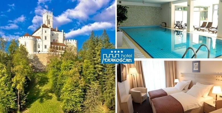 [HOTEL TRAKOŠĆAN****] 2 dana s polupansionom za dvoje uz neograničeno korištenje bazena, sauna i jacuzzija do 24.7. od 499 kn!