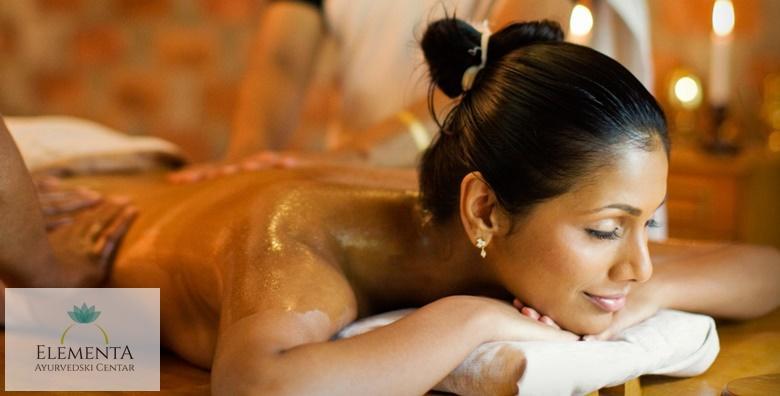 [AYURVEDSKA MASAŽA] Kraljevski tretman opuštanja cijelog tijela, lica i stopala uz primjenu toplih ulja prilagođenih vama -  60 minuta za 169 kn!