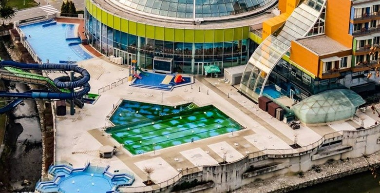 Cjelodnevno kupanje u bazenima hotela Thermana Park Laško - slika 17