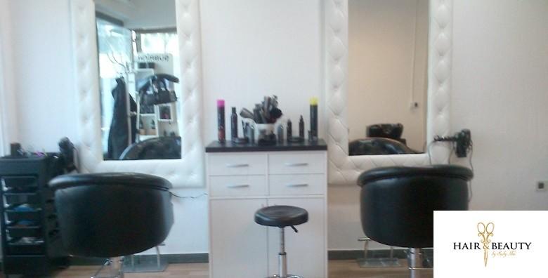 Pramenovi po izboru, šišanje i fen frizura - slika 4