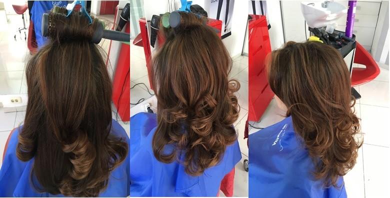 Pramenovi po izboru, šišanje, fen frizura i njegujuća maska - slika 5