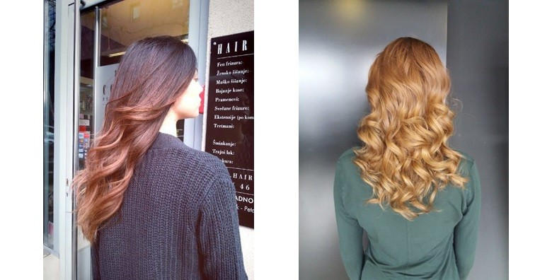 Šišanje i fen frizura u salonu Hair Couture - slika 4