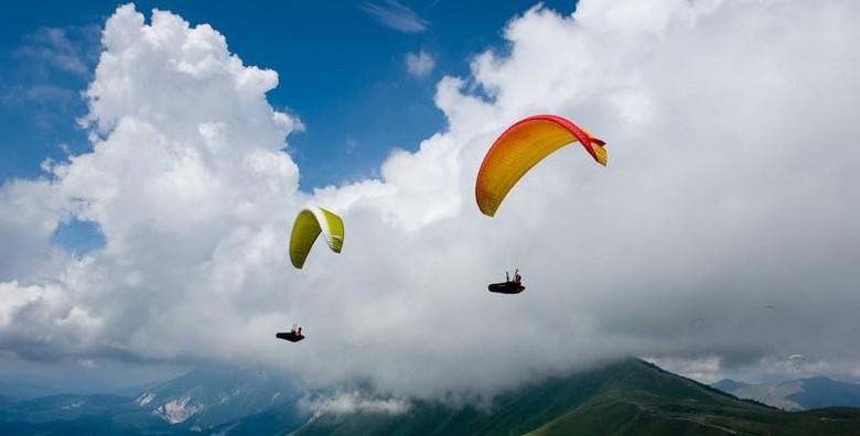 Paragliding - adrenalinski let u tandemu s instruktorom - slika 2