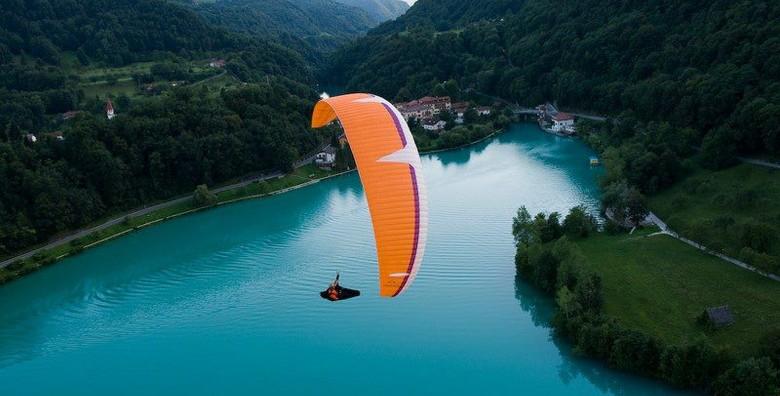 Paragliding - adrenalinski let u tandemu s instruktorom - slika 4