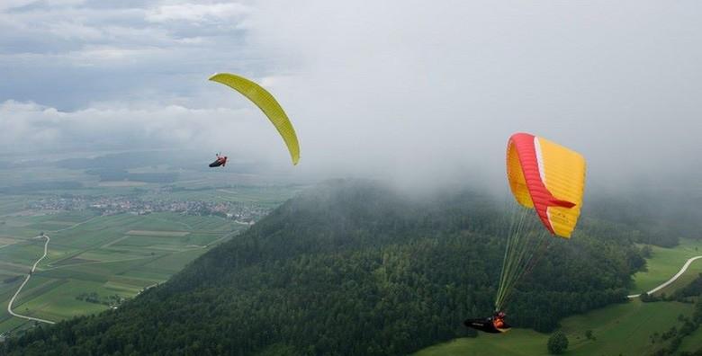 Paragliding - adrenalinski let u tandemu s instruktorom - slika 6
