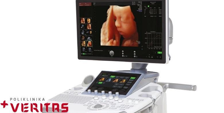4D HD Live ultrazvuk u trudnoći - najrealističniji prikaz vaše bebe pomoću najnovije tehnologije u Poliklinici Veritas za 499 kn!