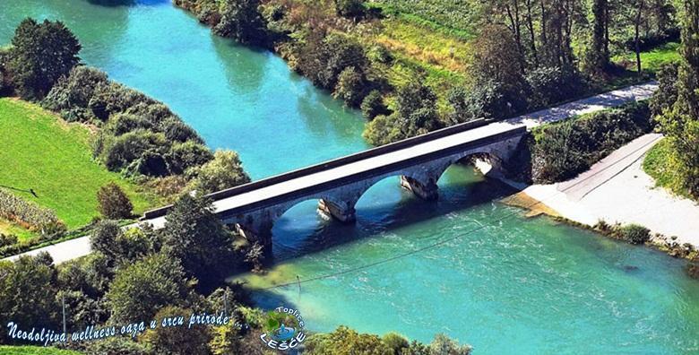 [TOPLICE LEŠĆE] 2, 3 ili 6 dana s polupansionom za dvoje u sobi s termalnom vodom, tik do rijeke Dobre od 425 kn!