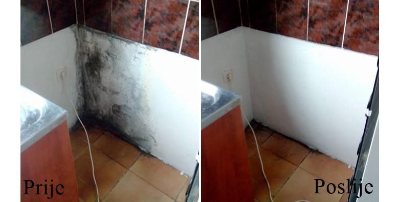 Bojanje zidova i stropova bojom po izboru do 50m2 ili 100m2 - slika 3