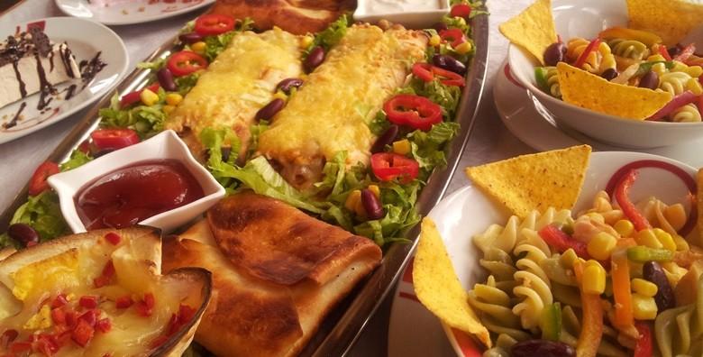 Slasne punjene tortilje, umaci, asteca salata i semifreddo - slika 2